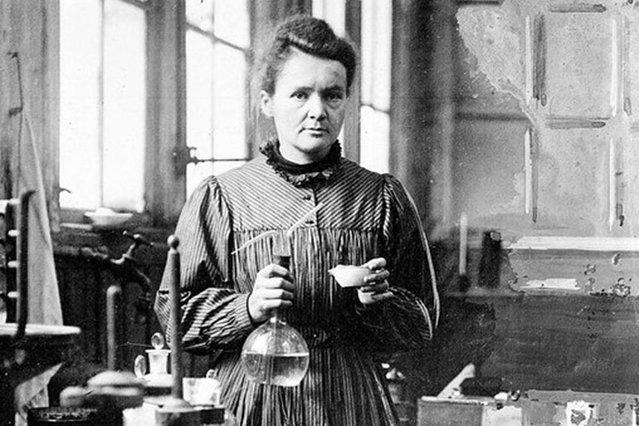 Zdjęcie przedstawiające Marię Skłodowską Curie