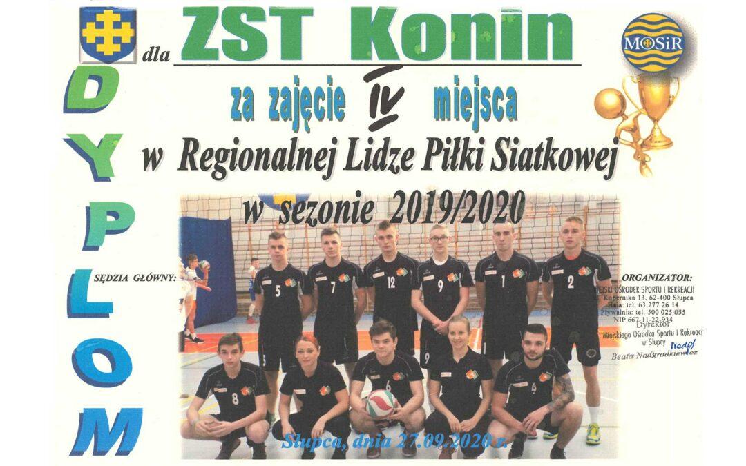 Finał Regionalnej Ligi Piłki Siatkowej Mężczyzn 2019/2020