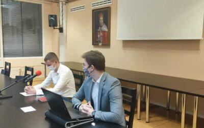 Jakub Wojtaluk z klasy 4TZ – wiceprzewodniczącym Młodzieżowej Rady Miasta Konina
