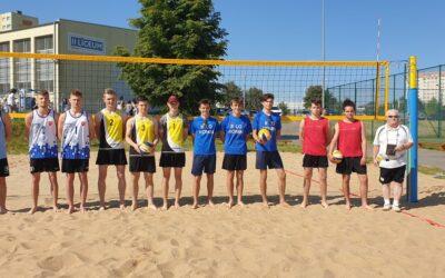 Licealiada 2021- trzecie miejsce w Mistrzostwach Rejonu Konińskiego w siatkówce plażowej
