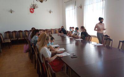 Wycieczka zawodowa uczniów klasy 3 TZ do UM